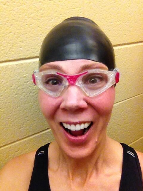 Join me! Swimming is fun!