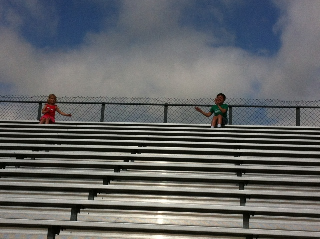 My cheering section and my favorite fans.