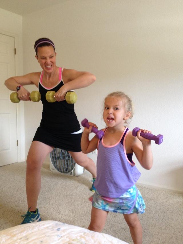 Jillians-in-training.