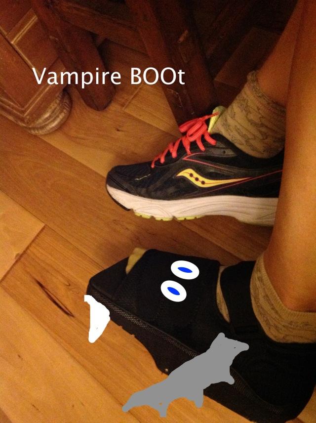 k's vampire boot